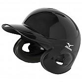 [2HA188] 미즈노 헬멧 (검정) 양귀