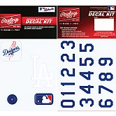 [LA 다저스] MLB 헬멧 스티커 데칼 키트