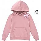 [KT 위즈] 이니셜 앵글 유니 어린이 후드티셔츠 (분홍)