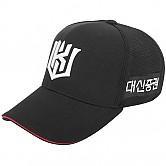 [KT 위즈] 2019 어센틱 플렉스핏 모자 (검정)
