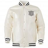 [KT 위즈] 이니셜 로고 펄 자켓 (백색)