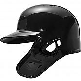 [1901-005] 골드 헬멧 (유광 검정) 좌귀/우타자 + 검투사 탈부착