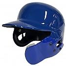 엑스필더 초경량 헬멧 (유광 청색) 양귀 + 검투사 탈부착