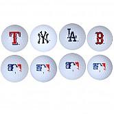 [MLB] 구단 3피스 골프공 (흰색)
