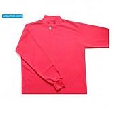 골드 목 언더셔츠 (올적색)