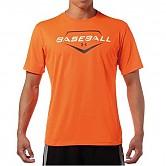 [8738] 언더아머 베이스볼 반팔 티셔츠 (오렌지)