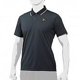 [3109] 미즈노 프로 폴로 셔츠 (검정)