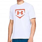[1317277-100] 언더아머 라운드 반팔 티셔츠 (흰색)