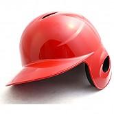 미성 타자 헬멧 (유광 적색) 우귀/좌타