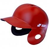 SSK 초경량 헬멧 (무광 적색) 양귀