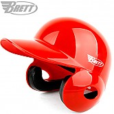 브렛 프로 헬멧 (유광 적색) 양귀