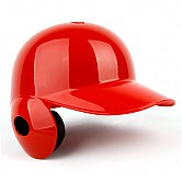 브렛 프로 헬멧 (유광 적색) 우귀 / 좌타