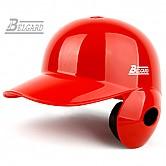 벨가드 프로 헬멧 (유광 적색) 좌귀/우타